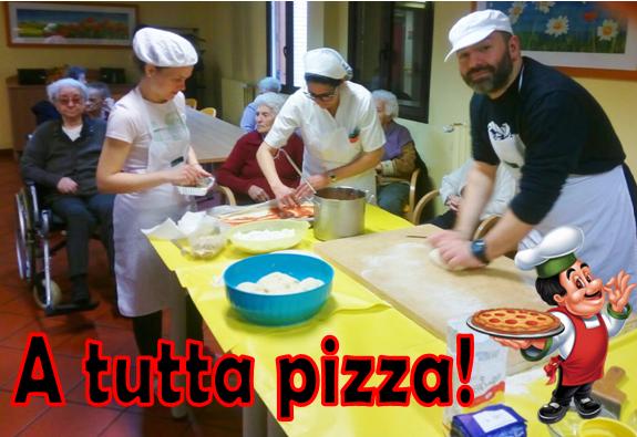 A tutta Pizza!!!